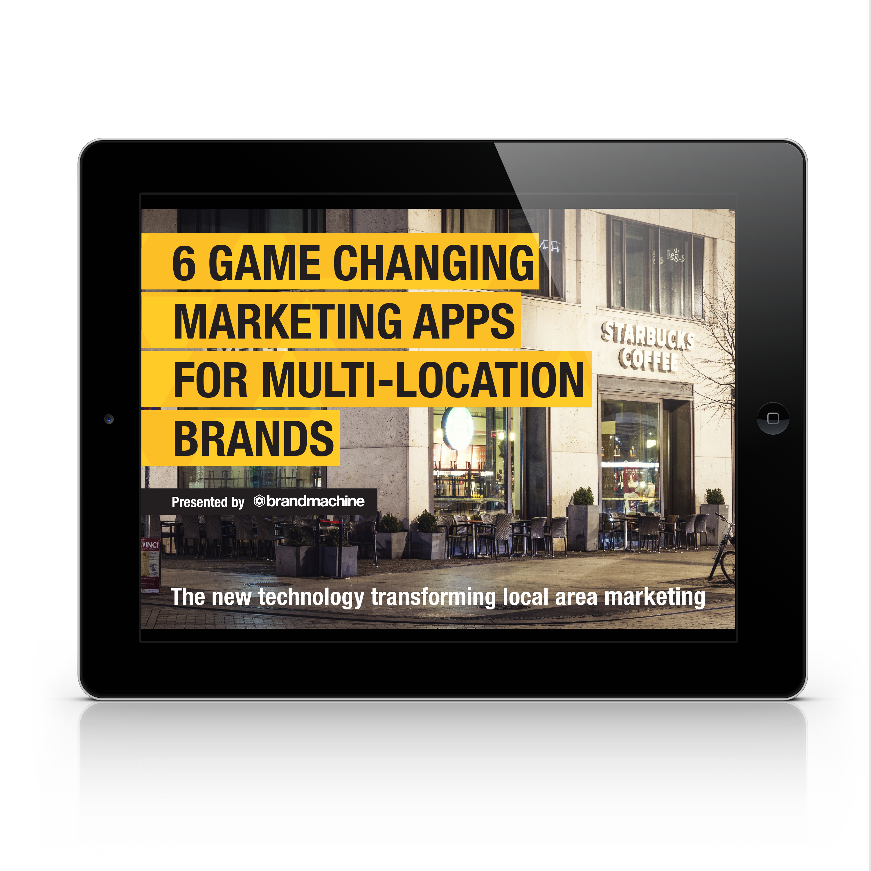 Marketing apps for franchise and multi-location brands - by Brand Machine